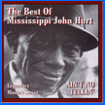 Album cover art for the aim release 'Ain't No Tellin' by Mississippi John Hurt