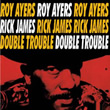 Album cover art for the aim release Double Trouble by Roy Ayers