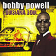 Album cover art for the aim release Louisiana Soul by Bobby Powell