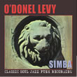 Album cover art for the aim release Simba by O'donel Levy.