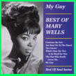 Album cover art for the aim release My Guy by Mary Wells